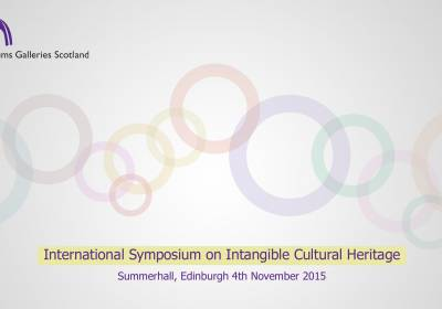 The Role of Living Culture in Identities and Sustainable Community Development